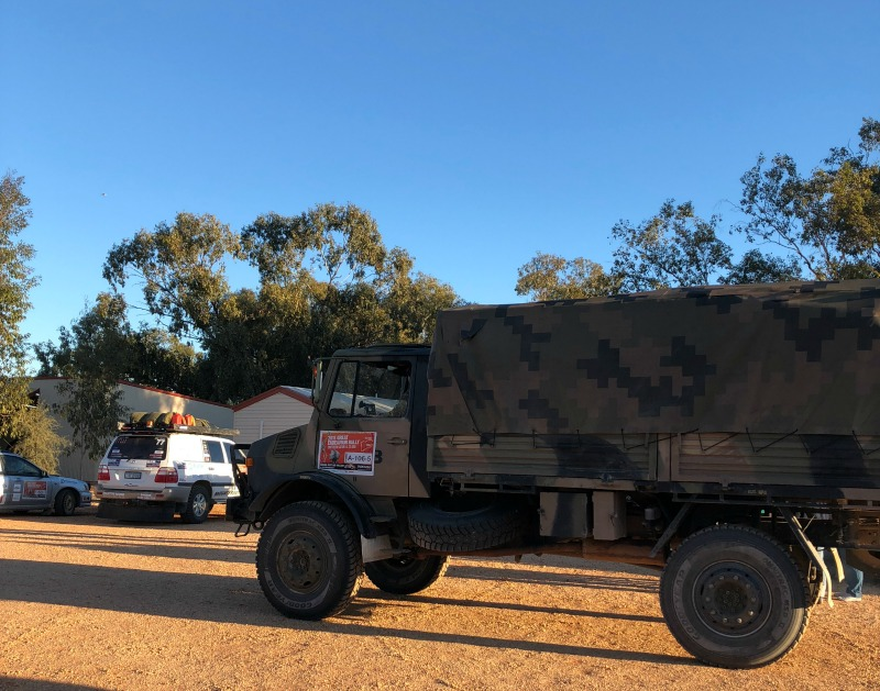 the beloved Army Spares Truck