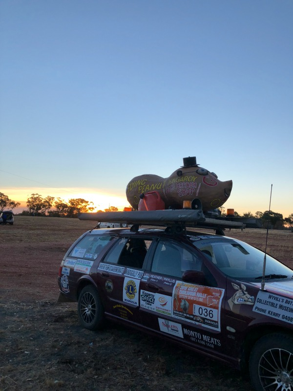 Great Endeavour Rally, the flying peanut